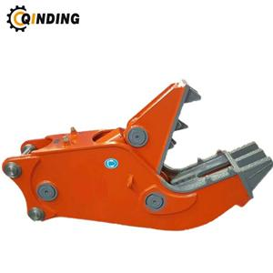 Hydraulic Steel Shear Cutter Pulverizer For Kubota Excavator