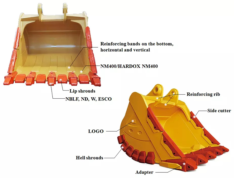 Volvo Mine Bucket