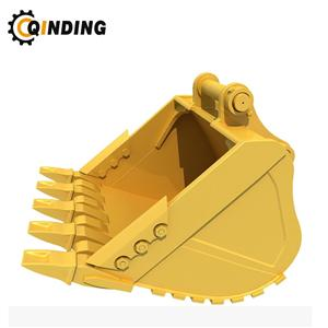 Heavy-duty Digging Mining Rock Bucket With Customizable Service