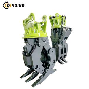 Excavator Hydraulic Log Grapple Bucket Grab For 20-30 Ton Excavator