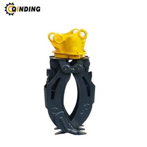 Mechanical Grapple For Komatsu Excavator PC200