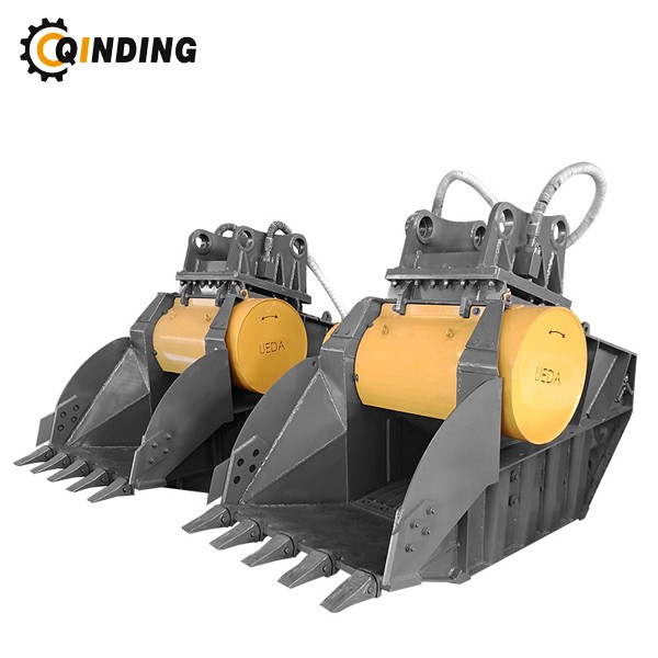 OEM Support Hydraulic Rock Concrete Crusher Bucket