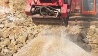 Rock Concrete Crusher