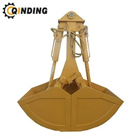 Hydraulic Clamshell Grab Bucket For Mini Excavator