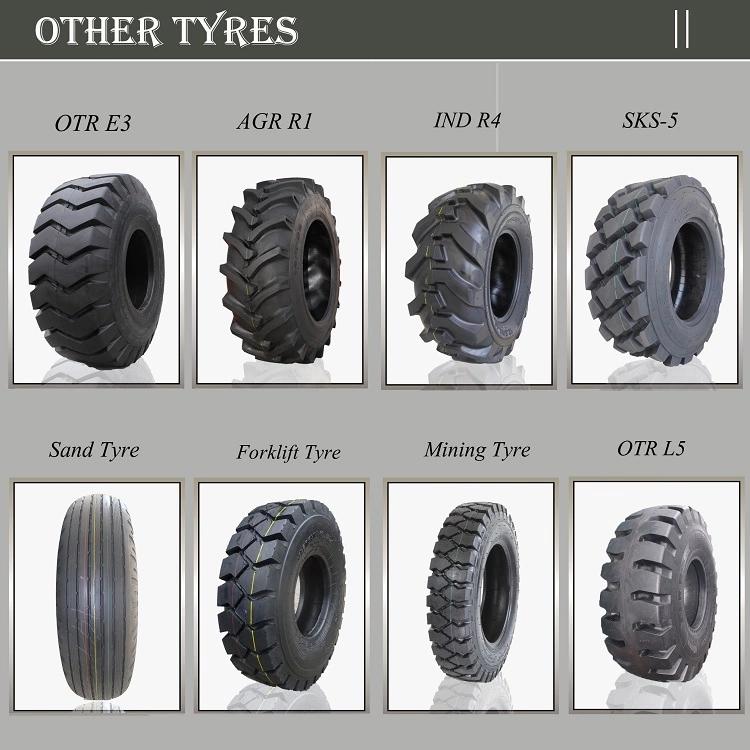 Wheel Loader Rubber Tires