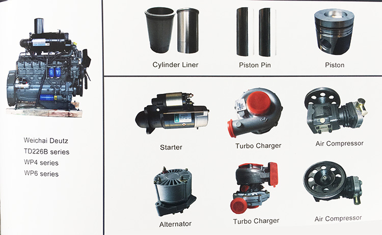 Deutz Engine Spare Parts