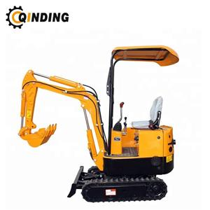 Chinese New Garden Mini Digger Compact Crawler Excavator