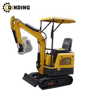 Mini escavador hidráulico da mini máquina escavadora 1200kg