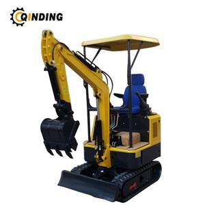 1.5T Small Excavator With Rubber Track 1.5t Mini Digger