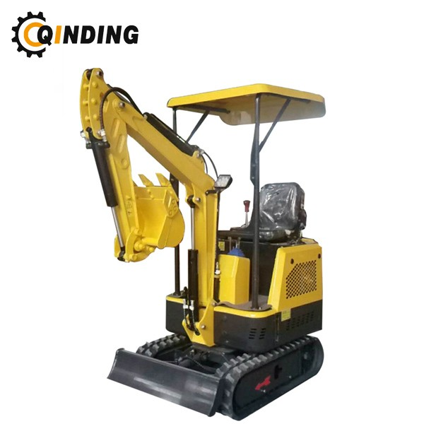 1.2ton Small Mini Excavator With Hydraulic Hammer Wood Grab