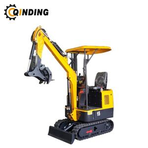 Hydraulic Crawler Small Diggers 1.5 Ton Mini Excavator