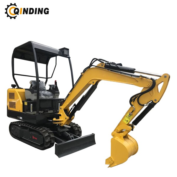 1.8T Small Excavator With Rubber Track 1.5t Mini Digger