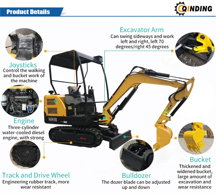 1.8T Small Excavator