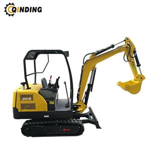 1800kgs Mini Excavator With Rubber Tracks With CE
