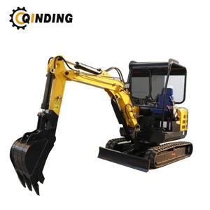 Máquina escavadora pequena hidráulica do escavador 2200kgs da máquina escavadora da mini 2.2Ton