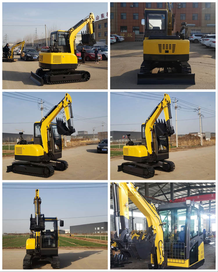 2500kgs small excavator with CE
