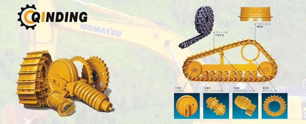 Excavator undercarriage parts