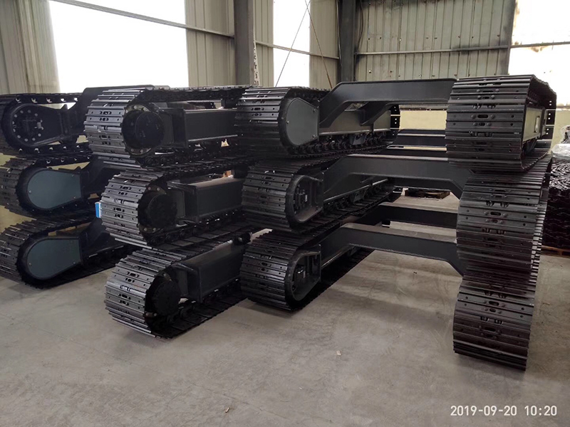 undercarriage for drilling machine