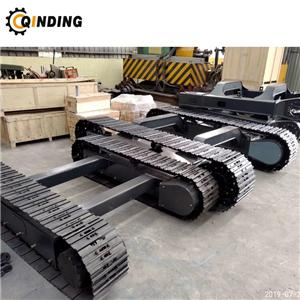Crawler steel tracked undercarriage for mini excavator