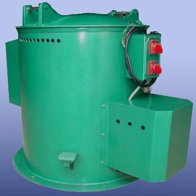 Electroplastie utilisée centrifugeuse de traitement par lots