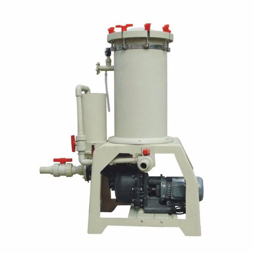 Filtre liquide chimique de galvanoplastie