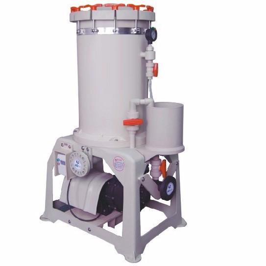 Filtre de traitement de l'eau pour l'industrie de la galvanoplastie