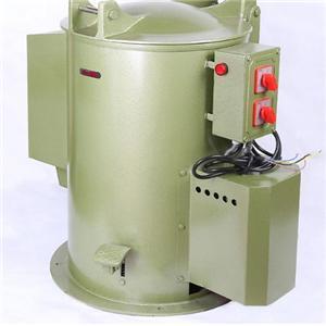 Dessiccateur centrifuge pour galvanisation des vis