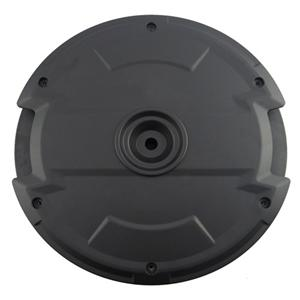 Space-saving Spare Wheel Amplified Subwoofer