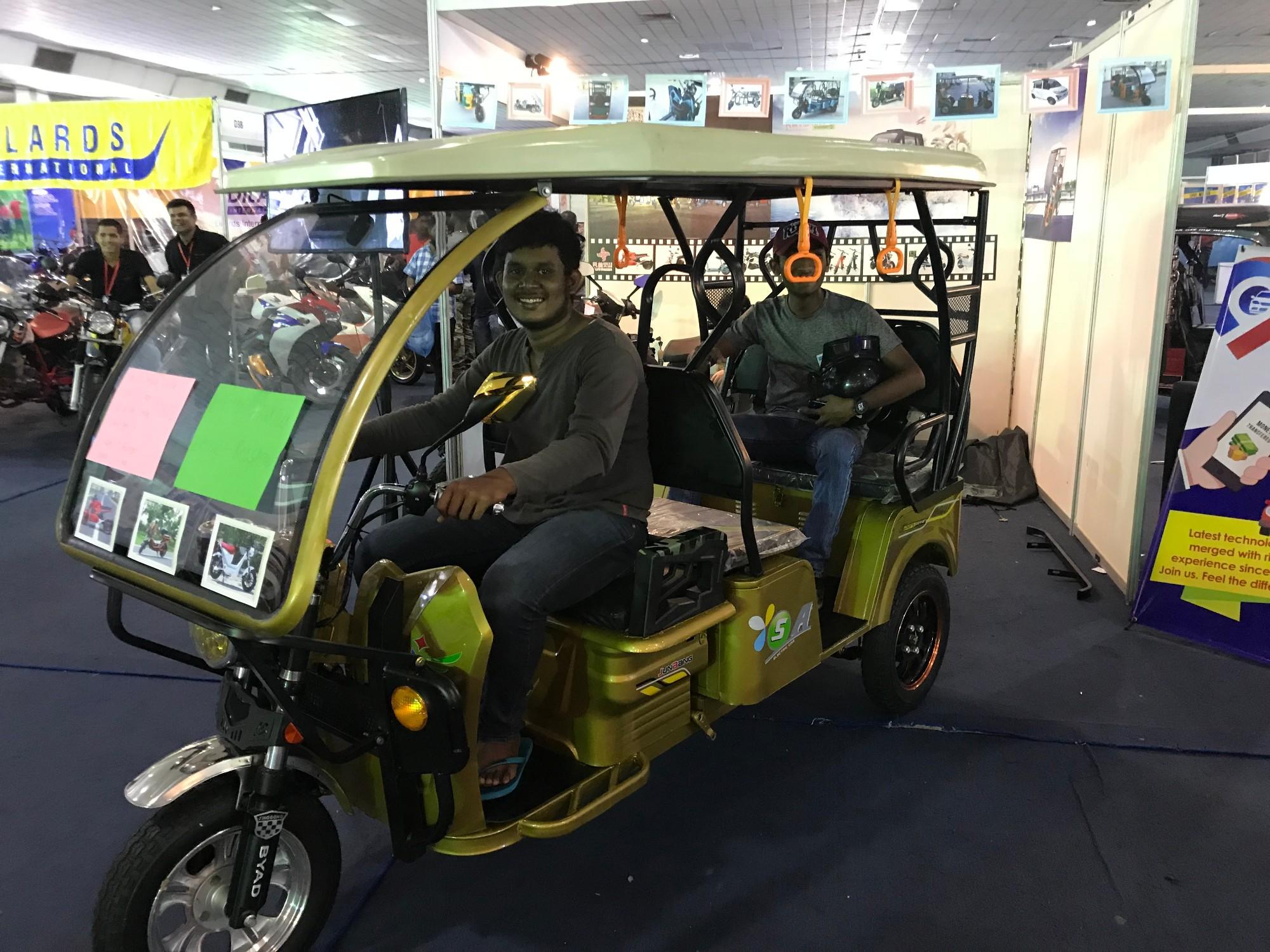 2018 Sri Lanka first electric vehicle exhibition