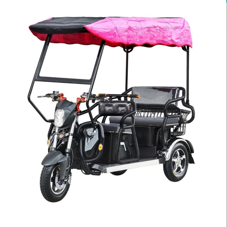 2 Seats Electric Tricycle