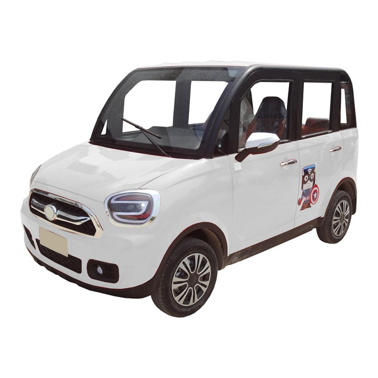 four doors low speed electric vehicle for adult