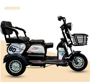 Cheap 3 Wheel Fat Tire Electric Cargo Delivery Bike Motorized Adult Electric Powered Tricycle