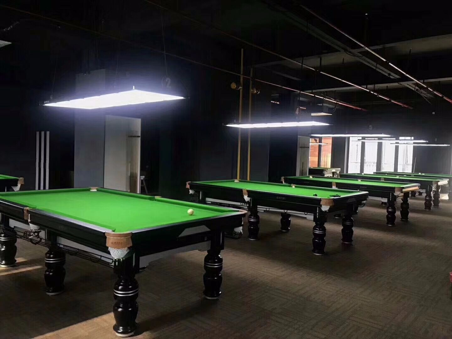 new pool hall in UK