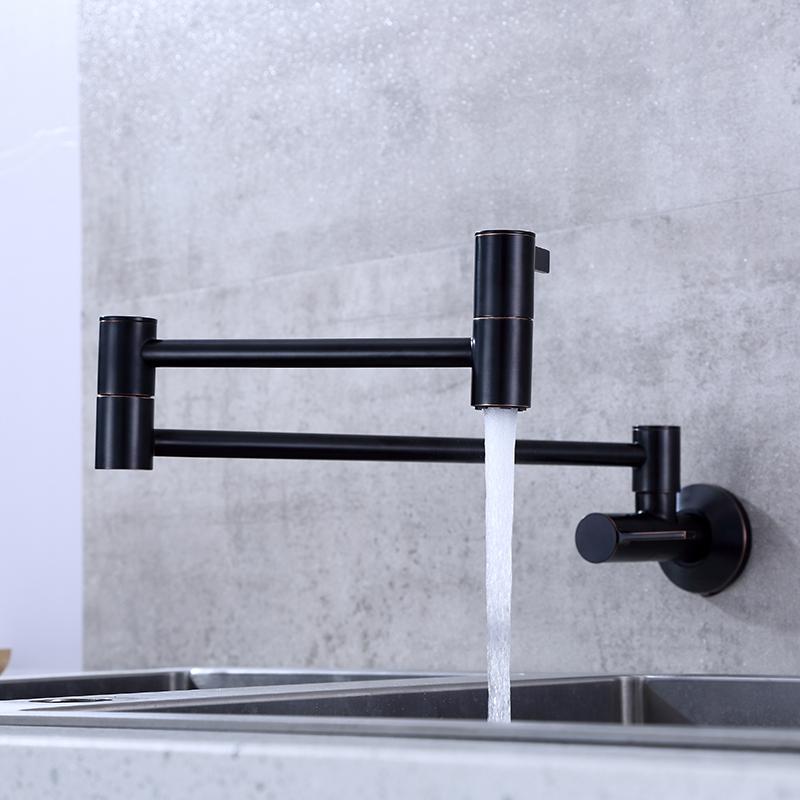 wall mounted stove pot filler