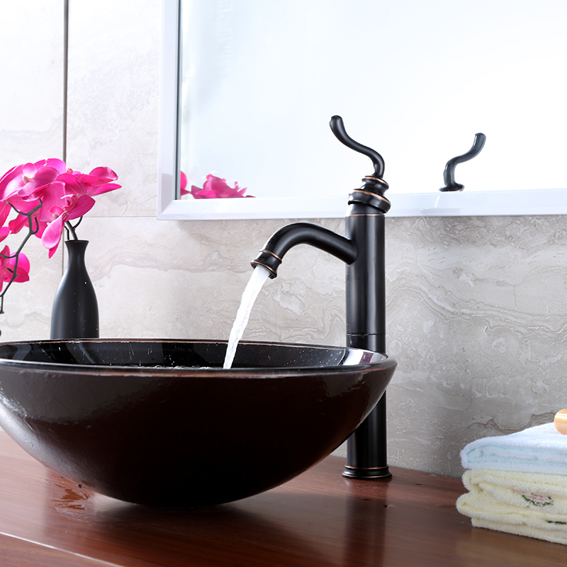 tall bathroom faucet