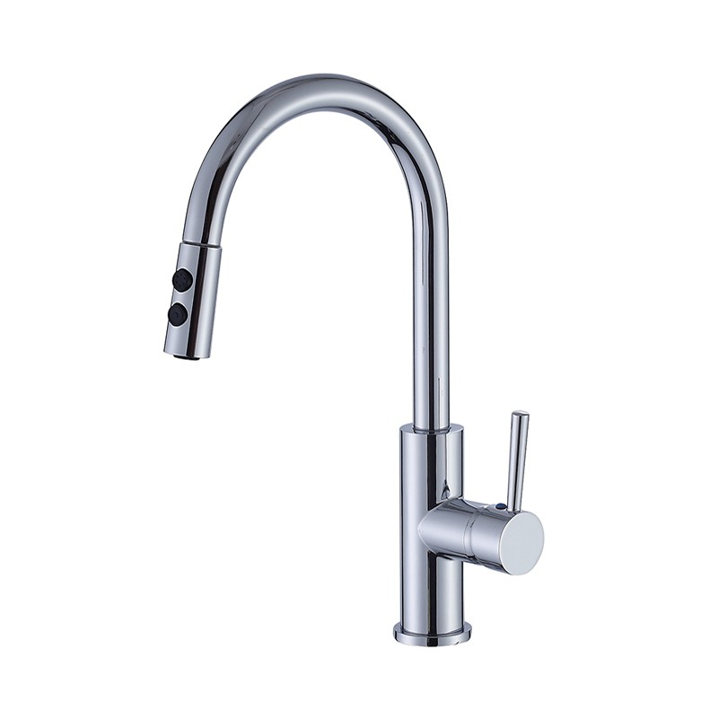 cUPC Pull Down Kitchen Faucet