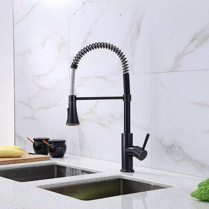 spring kitchen sink faucet