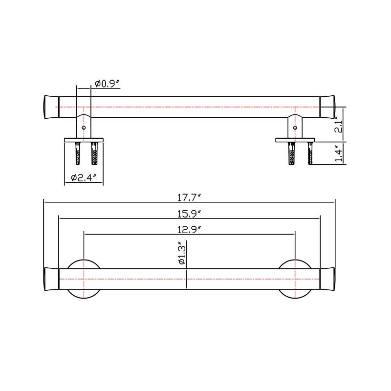 Stainless Steel Handicap Grab Bar Manufacturers, Stainless Steel Handicap Grab Bar Factory, Supply Stainless Steel Handicap Grab Bar