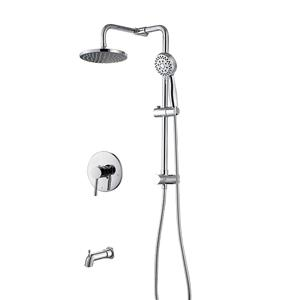 Shower System With Tub Spout