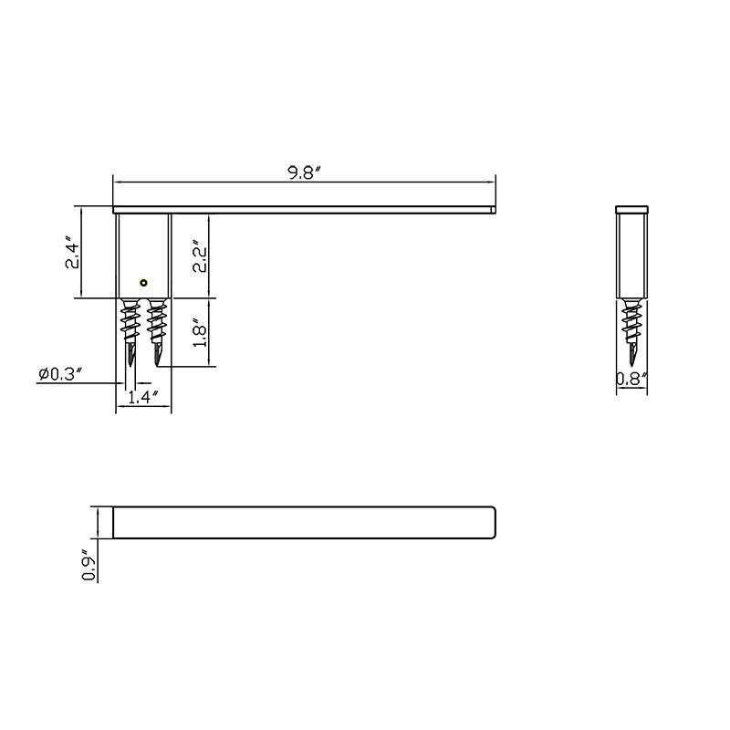 Square Bathroom Towel Holder Manufacturers, Square Bathroom Towel Holder Factory, Supply Square Bathroom Towel Holder