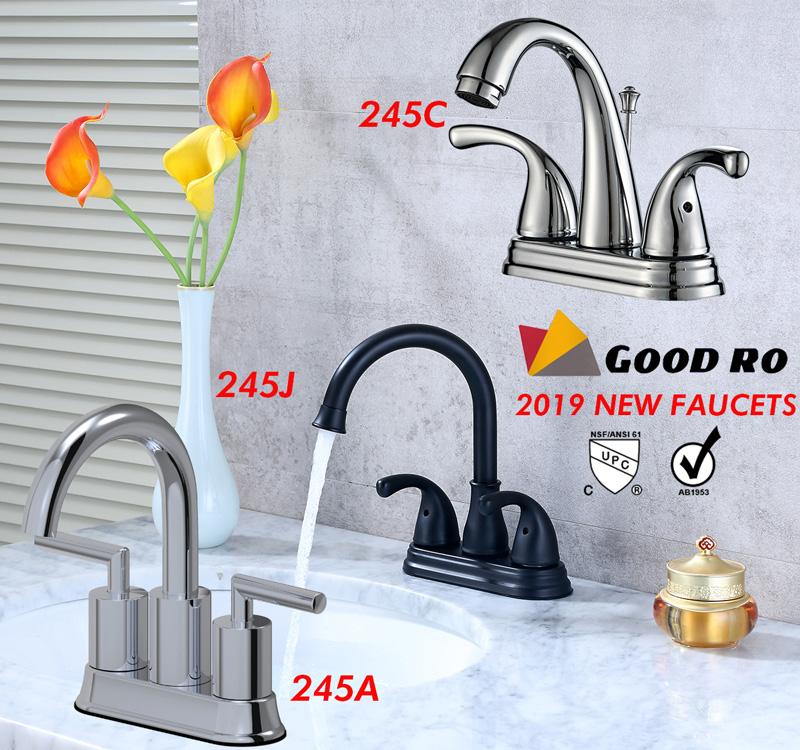 double handle lavatory faucet