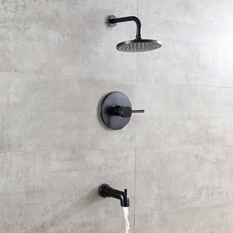 tub spout shower system
