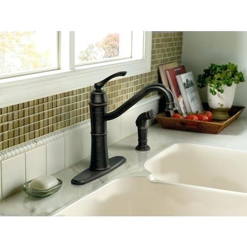 one handle high arc kitchen faucet