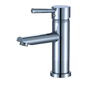 Single Handle One Hole Bathroom Sink Faucet
