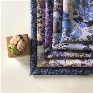 Polyester Taffeta Transfer Printing Fashion Designs Lining Fabric