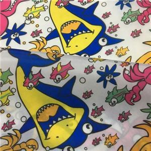 Polyester 210T Taffeta Lovely Cartoon Printing For Childrens Wear