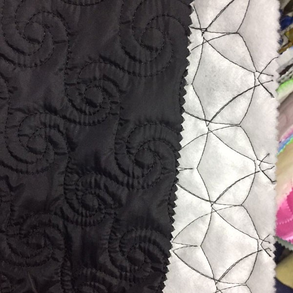 Single Quilted Taffeta Fabric For Coat Lining