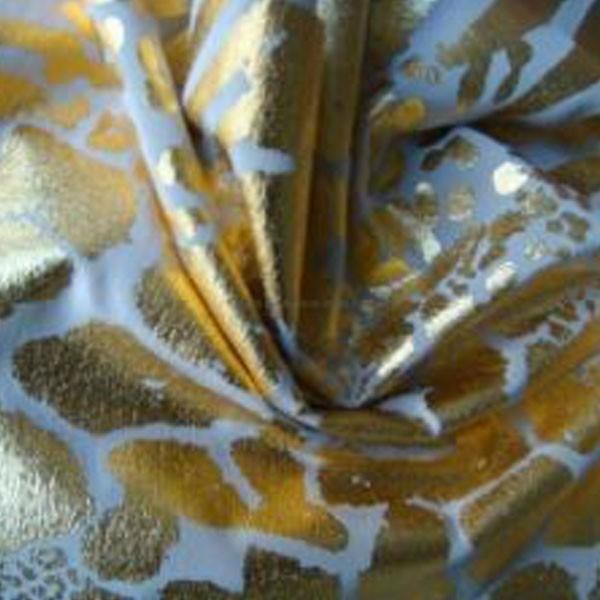 महिला पहनने के लिए 210T तफ़ता पन्नी प्रिंट असबाब कपड़े