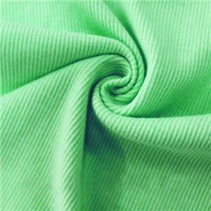 CVC Spandex Rib Knitting Fabric