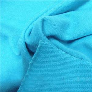 CVC Spandex Terry Knitting Fabric